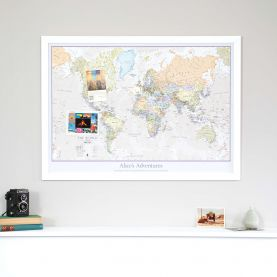 Personalized Classic World Map