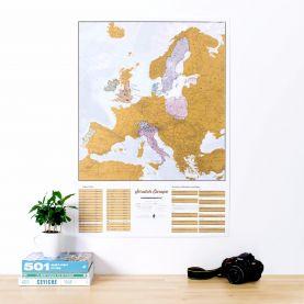 Scratch Europe Print