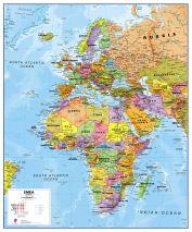 Europe Middle East Africa (EMEA) Political Map