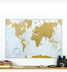 Scratch the World® - Spanish Language (Silk Art Paper)