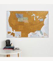 Scratch USA Print