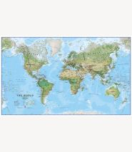 Huge World Wall Map Environmental (Paper)