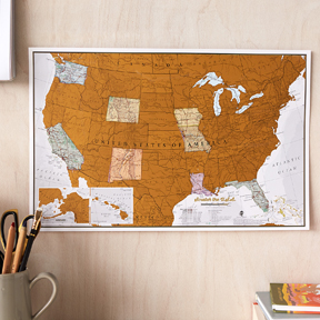 Travel Scratch Prints