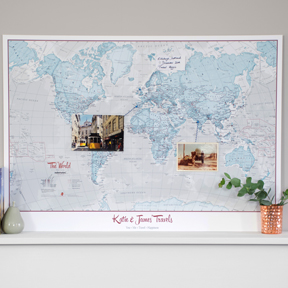 Travelers Map Gift
