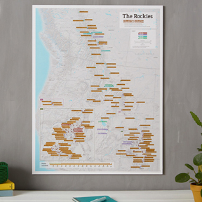 Personalized Scratch Maps