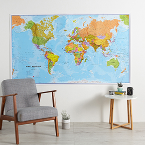 Large Wall Maps